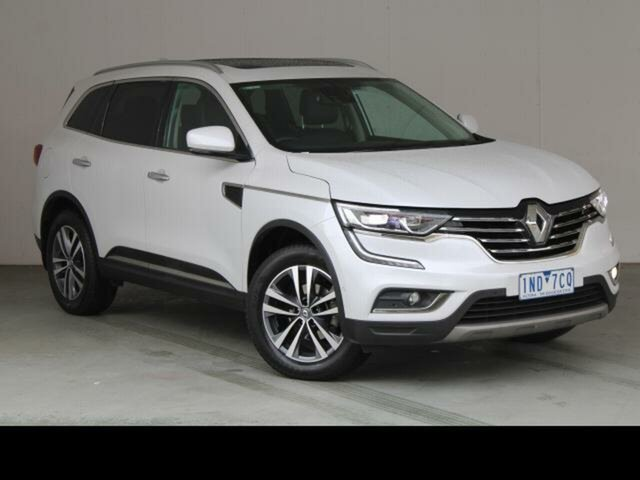 Used Renault Koleos XZG MY17 Update Intens X-Tronic (4x4) Fyshwick, 2017 Renault Koleos XZG MY17 Update Intens X-Tronic (4x4) White Continuous Variable Wagon