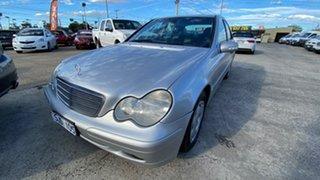 2003 Mercedes-Benz C-Class W203 MY2003 C180 Kompressor Classic Silver 5 Speed Automatic Sedan