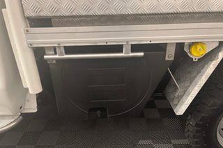 2016 Mazda BT-50 UR0YF1 XT White 6 speed Automatic Cab Chassis