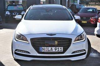 2014 Hyundai Genesis DH Ultimate Pack White 8 Speed Sports Automatic Sedan.