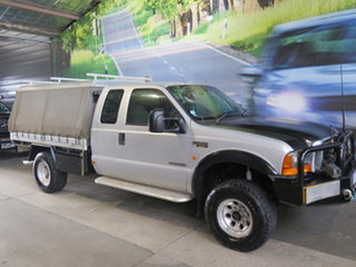 2003 Ford F250 RM XLT (4x4) Silver 4 Speed Automatic Super Cab Pickup