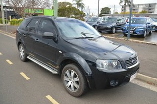 2008 Ford Territory SY MY07 Upgrade TS (RWD) Black 4 Speed Auto Seq Sportshift Wagon.