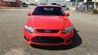 2013 Ford Falcon FG MK2 XR6 Red 6 Speed Auto Seq Sportshift Sedan