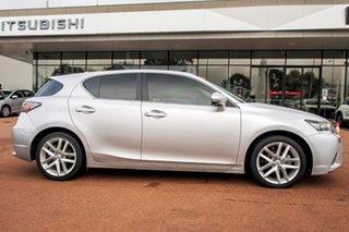 2015 Lexus CT ZWA10R MY15 CT200h Luxury Silver 1 Speed Constant Variable Hatchback Hybrid.