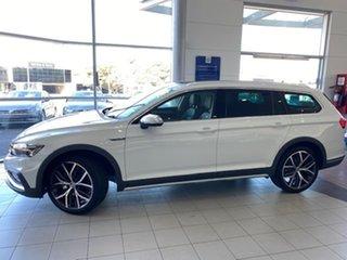 2021 Volkswagen Passat 3C (B8) MY21 Alltrack DSG 4MOTION 162TSI Premium Pure White 7 Speed.