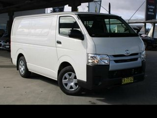 2018 Toyota HiAce TRH201R MY16 LWB French Vanilla 6 Speed Automatic Van