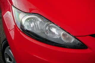 2010 Ford Fiesta WT CL Red 5 Speed Manual Hatchback