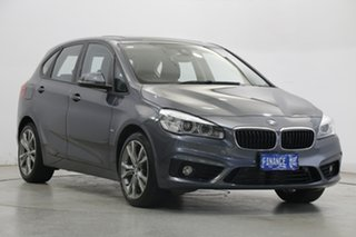 2016 BMW 2 Series F45 220i Active Tourer Steptronic Sport Line Grey 8 Speed Automatic Hatchback