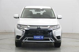 2020 Mitsubishi Outlander ZL MY20 ES AWD White 6 Speed Constant Variable Wagon.