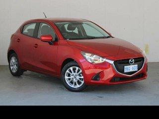 2015 Mazda 2 DJ Maxx Red 6 Speed Automatic Hatchback