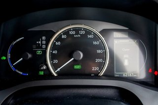 2015 Lexus CT ZWA10R MY15 CT200h Luxury Silver 1 Speed Constant Variable Hatchback Hybrid