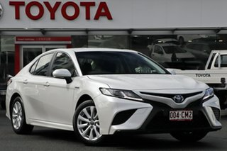 2020 Toyota Camry AXVH71R Ascent Sport Frosted White 6 Speed Constant Variable Sedan Hybrid.
