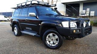 2012 Nissan Patrol GU VIII ST (4x4) Black 5 Speed Manual Wagon.