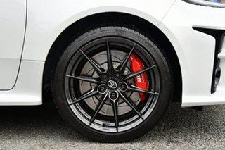 2021 Toyota Yaris Gxpa16R GR Rallye White 6 Speed Manual Hatchback.
