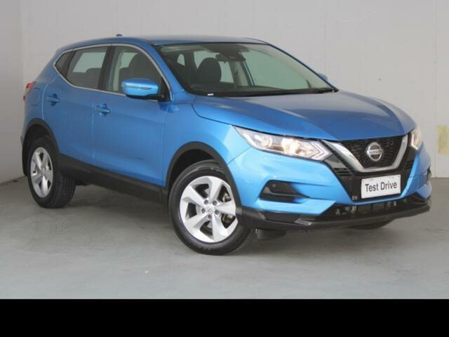 Used Nissan Qashqai J11 MY18 ST Belconnen, 2018 Nissan Qashqai J11 MY18 ST Blue Continuous Variable Wagon