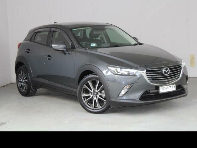 Used Mazda CX-3 DK S Touring (FWD) Fyshwick, 2015 Mazda CX-3 DK S Touring (FWD) Grey 6 Speed Automatic Wagon