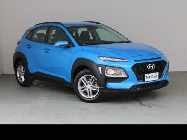 Used Hyundai Kona OS.2 MY19 Active (FWD) Belconnen, 2018 Hyundai Kona OS.2 MY19 Active (FWD) Blue 6 Speed Automatic Wagon