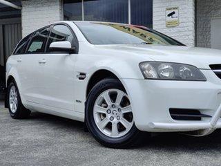 2010 Holden Commodore VE MY10 Omega Sportwagon Heron White 6 Speed Sports Automatic Wagon.