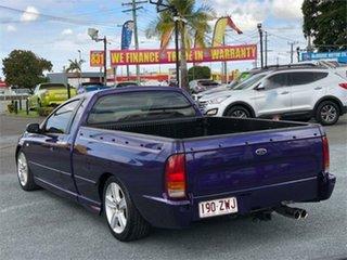 2004 Ford Falcon BA Mk II XR8 Purple 6 Speed Manual Utility