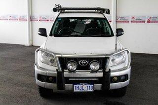 2010 Toyota Landcruiser Prado KDJ150R GX (4x4) Glacier White 5 Speed Sequential Auto Wagon.