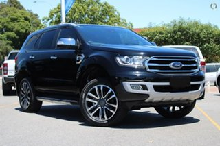 2021 Ford Everest UA II 2021.25MY Titanium Black 10 Speed Sports Automatic SUV.