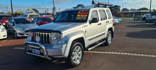 2010 Jeep Cherokee KK MY10 Limited Silver 4 Speed Automatic Wagon