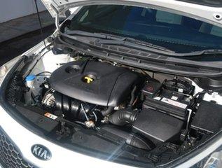 2015 Kia Cerato YD MY15 S White 6 Speed Sports Automatic Sedan
