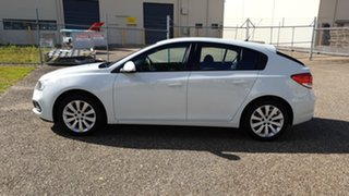 2016 Holden Cruze JH MY15 Equipe White 6 Speed Automatic Hatchback