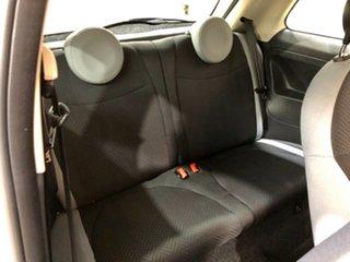 2016 Fiat 500 Series 4 Pop Dualogic White 5 Speed Sports Automatic Single Clutch Hatchback