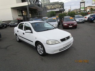 2003 Holden Astra TS CD White 4 Speed Automatic Sedan.