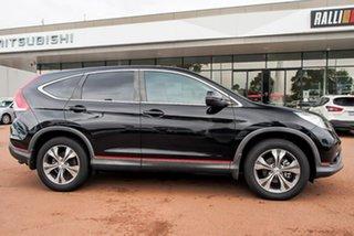 2014 Honda CR-V RM MY15 VTi Black 5 Speed Automatic Wagon.