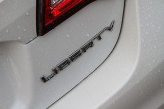 2017 Subaru Liberty B6 MY17 2.5i CVT AWD Premium White 6 Speed Constant Variable Sedan
