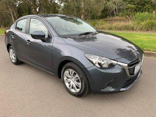 2015 Mazda 2 DL Series Neo Grey Sports Automatic Sedan.