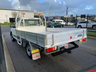 2012 Isuzu D-MAX TF MY12 SX (4x2) White 5 Speed Manual Cab Chassis