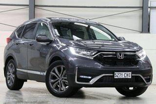 2021 Honda CR-V RW MY21 VTi 4WD LX AWD Modern Steel 1 Speed Constant Variable Wagon.