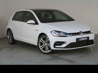 2019 Volkswagen Golf AU MY19 110 TSI Highline White 7 Speed Auto Direct Shift Hatchback