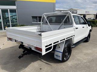 2017 Toyota Hilux GUN126R SR Double Cab White/190218 6 Speed Sports Automatic Utility.