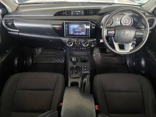 2017 Toyota Hilux GUN126R SR Double Cab White/190218 6 Speed Sports Automatic Utility