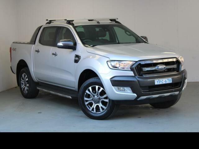 Used Ford Ranger PX MkII MY17 Wildtrak 3.2 (4x4) Fyshwick, 2017 Ford Ranger PX MkII MY17 Wildtrak 3.2 (4x4) Silver 6 Speed Manual Dual Cab Pick-up