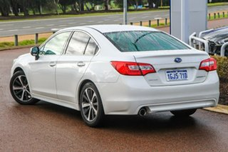 2017 Subaru Liberty B6 MY17 2.5i CVT AWD Premium White 6 Speed Constant Variable Sedan.