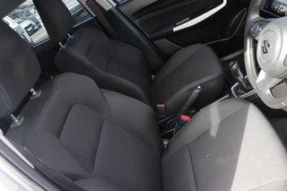 2018 Suzuki Swift AZ GL Silver 5 Speed Manual Hatchback