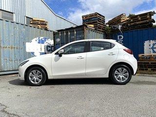 2017 Mazda 2 DJ2HA6 Neo SKYACTIV-MT White Pearl 6 Speed Manual Hatchback