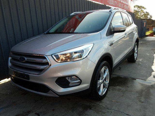 Used Ford Escape ZG 2018.00MY Trend Blair Athol, 2018 Ford Escape ZG 2018.00MY Trend Silver 6 Speed Sports Automatic Dual Clutch SUV