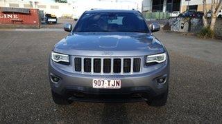 2013 Jeep Grand Cherokee WK MY14 Laredo (4x4) Silver 8 Speed Automatic Wagon