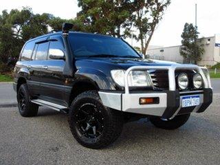 2003 Toyota Landcruiser UZJ100R GXL (4x4) Black 5 Speed Manual Wagon.