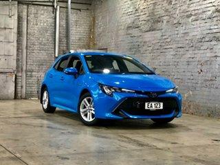 2021 Toyota Corolla ZWE211R Ascent Sport E-CVT Hybrid Blue 10 Speed Constant Variable Hatchback.