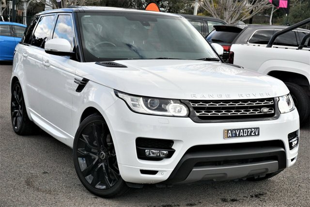 Used Land Rover Range Rover Sport L494 16MY SE Phillip, 2016 Land Rover Range Rover Sport L494 16MY SE White 8 Speed Sports Automatic Wagon