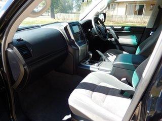 2018 Toyota Landcruiser VDJ200R GXL Eclipse Black 6 Speed Sports Automatic Wagon