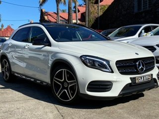 2017 Mercedes-Benz GLA-Class X156 808MY GLA250 DCT 4MATIC Calcite White 7 Speed.