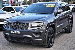 2015 Jeep Grand Cherokee WK MY15 Blackhawk Grey 8 Speed Sports Automatic Wagon